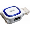 Устройство для чтения карт памяти Ginzzu GR-514UB, бело-синий, купить за 675руб.