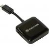 Устройство для чтения карт памяти Transcend TS-RDP9K, черный, купить за 910руб.
