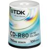 Оптический диск ТDK CD-R 700Mb CD-R80CBA100 (100 шт.), купить за 1 500руб.