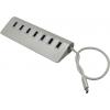 USB концентратор VCom DH317, серебристый, купить за 1 835руб.