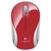 Мышку Logitech Wireless Mini Mouse M187, Красно-белая, купить за 1375руб.
