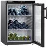 Холодильник Liebherr WKb 1812-20, винный шкаф, чёрный, купить за 59 865руб.
