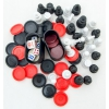 Набор игровой Weekend-Billiard Universe/Heat, шахматы, шашки, нарды, купить за 555руб.