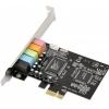 Звуковая карта ASIA PCI-E CMEDIA CMI8738 5.1, купить за 990руб.