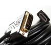 кабель (шнур) Telecom HDMI (M) - DVI-D DL (M) (CG481G-5M, 5 м)