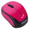 Мышку Genius Micro Traveler 9000R, Розово-черная, купить за 1495руб.