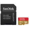 SanDisk Extreme microSDXC Class 10 UHS Class 3 90MB/s 64GB (SDSQXNE-064G-GN6AA), ������ �� 2 180 ���.