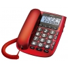 Проводной телефон teXet TX-260 Красный, купить за 1 590руб.