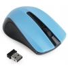 Мышка Gembird MUSW-101-B USВ, голубая, купить за 380руб.
