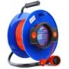 Удлинитель электрический PowerCube PC-B1-K-50, оранжевый/синий, купить за 1 950руб.