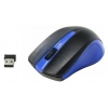 Мышка Oklick 485MW, Черно-синяя, купить за 545руб.