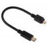 Кабель / переходник для телефона Hama USB Type-C - microUSB (00135713) черный, купить за 760руб.