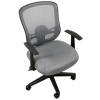 Компьютерное кресло COLLEGE HLC-0420-1C-1 (ткань, сетчатый акрил, серое), купить за 4 740руб.