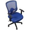 Компьютерное кресло COLLEGE HLC-0420-1C-1 (ткань, сетчатый акрил, синее), купить за 6 385руб.