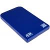 Корпус для внешнего жесткого диска AgeStar SUB2O1 (2.5'', miniUSB 2.0), синий, купить за 410руб.