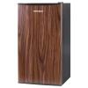 Холодильник Shivaki SDR-082T, темное дерево, купить за 7860руб.