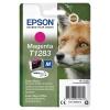 Картридж Epson C13T12834012, пурпурный, купить за 1 080руб.