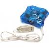 USB концентратор Orient 004, голубой, купить за 405руб.