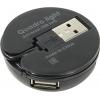 USB концентратор Defender Quadro Light, черный, купить за 545руб.