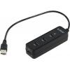 USB концентратор Orico W5PH4-U2-BK, черный, купить за 795руб.