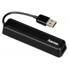 USB концентратор Hama 12167, черный, купить за 875руб.
