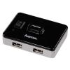 Usb-концентратор Hama Switch4Active, черный, купить за 1430руб.