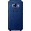 Чехол для смартфона Samsung Alcantara Cover для Galaxy S8+, голубой, купить за 1855руб.