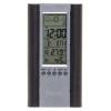Метеостанция Buro H6308AB, серебристо-черная, купить за 390руб.