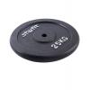 Диск для штанги Starfit BB-204 (25 кг), Черный, купить за 2 995руб.