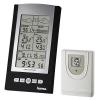 Метеостанцию Hama EWS-800, серебристо-черная, купить за 4050руб.