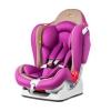 Автокресло детское Liko Baby LB 510, фиолетово-бежевое, купить за 5 900руб.