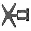 Кронштейн Arm Media COBRA-405, настенный, поворот, наклон, 26-55'', до 35 кг, чёрный, купить за 1830руб.
