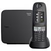 Радиотелефон Gigaset E630A, Чёрный, купить за 6 920руб.