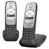 Радиотелефон Gigaset A415 DUO, Чёрный, купить за 3 390руб.