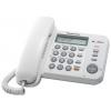 Проводной телефон Panasonic KX-TS2358RUW, Белый, купить за 2 040руб.
