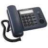 Проводной телефон Panasonic KX-TS2352RUC, Синий, купить за 930руб.