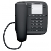Проводной телефон Gigaset DA410, Чёрный, купить за 1 410руб.