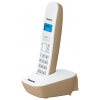 Радиотелефон DECT Panasonic KX-TG1611RUJ бежевый/белый, купить за 1 550руб.