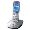 Радиотелефон Panasonic KX-TG2511RUS, серебристо-голубой, купить за 1 960руб.