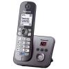 Радиотелефон Panasonic KX-TG6821RUM, Серый металлик, купить за 3 000руб.