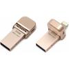 Usb-флешка Adata i-Memory AI920 64GB, розовое золото, купить за 4 095руб.