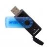Устройство для чтения карт памяти Ginzzu GR-412B черно-синий, купить за 455руб.