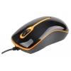 Мышку Gembird MUS-U-004-O USB, черно-оранжевая, купить за 315руб.