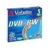 Оптический диск Verbatim DVD-RW Colour 43563 (5 шт), купить за 755руб.