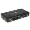 Устройство для чтения карт памяти Ginzzu GR-416B черный, купить за 790руб.