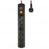 Сетевой фильтр Most HP 5 м (6 розеток) черный, купить за 1 120руб.