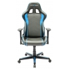 Игровое компьютерное кресло DXRacer Formula OH/FH08/NB, черно-голубое, купить за 25 990руб.