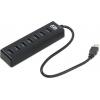 USB концентратор AgeStar 3UH6, черный, купить за 1 685руб.