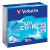 Оптический диск Verbatim CD-R 43342 (10 шт), купить за 735руб.