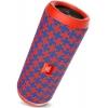 Портативная акустика JBL Flip 4 Malta, красно-синяя, купить за 5 520руб.